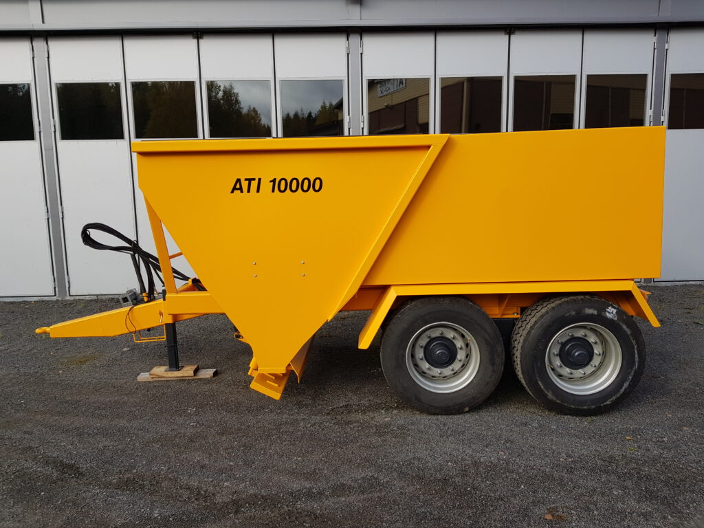 ATI-10000 Hiekoitinvaunu, Tuotteet