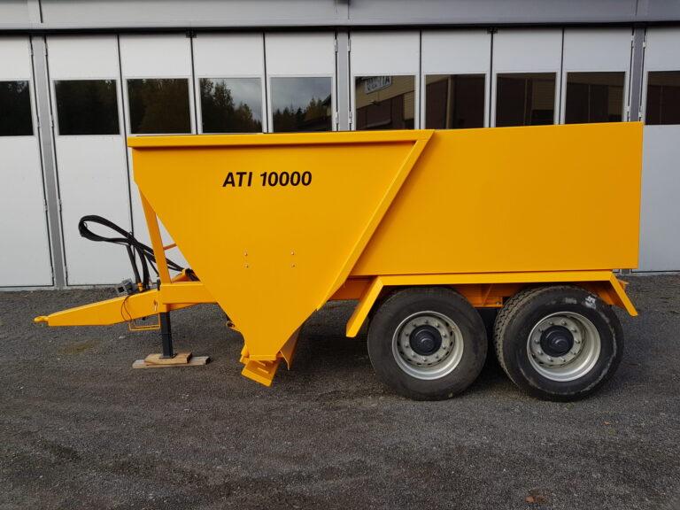 ATI-Teräs, ATI-10000 perävaunuhiekoitin, ATI-10000, Hiekoitin, Perävaunuhiekoitin, hiekoitin, Hiekoitinvaunu, Hiekoitusvaunu