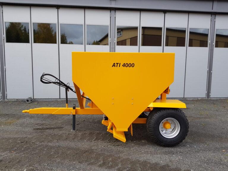 ATI-Teräs, ATI-4000 perävaunuhiekoitin, ATI-4000, Hiekoitin, Perävaunuhiekoitin, Hiekoitinvaunu, Hiekoitusvaunu, Vaunuhiekoitin