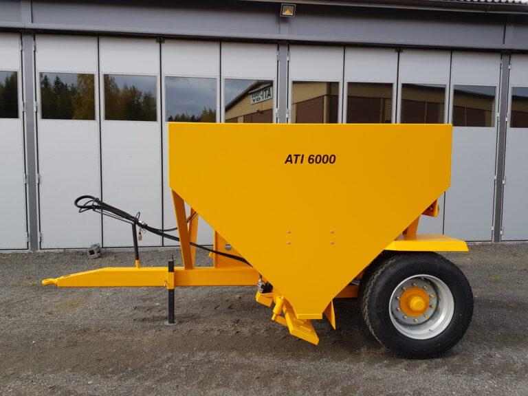 ATI-Teräs, ATI-6000 perävaunuhiekoitin, ATI-6000, Hiekoitin, Perävaunuhiekoitin, hiekoitin, Hiekoitinvaunu, Hiekoitusvaunu, Vaunuhiekoitin