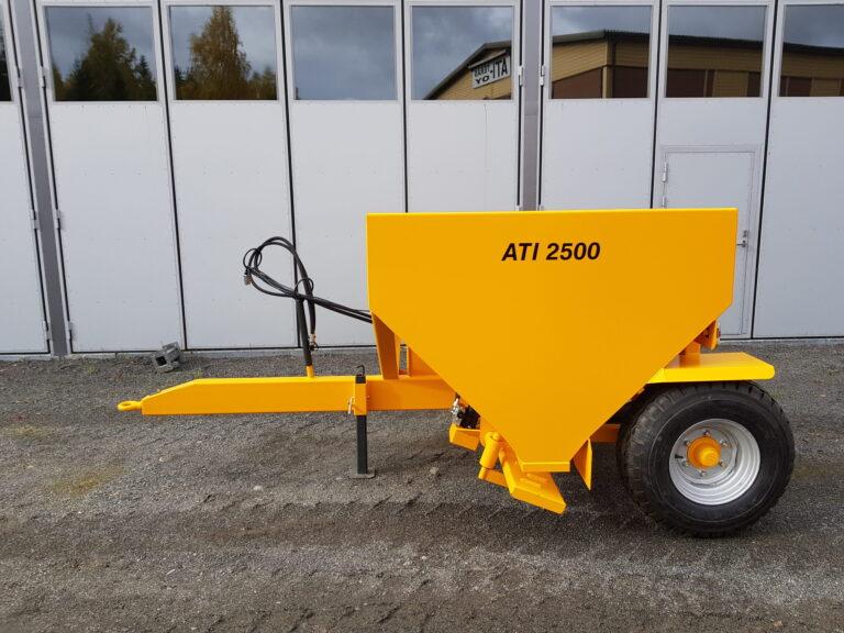 ATI-Teräs, ATI-2500 perävaunuhiekoitin, ATI-2500, Hiekoitin, Perävaunuhiekoitin, Hiekoitinvaunu, Hiekoitusvaunu, Vaunuhiekoitin