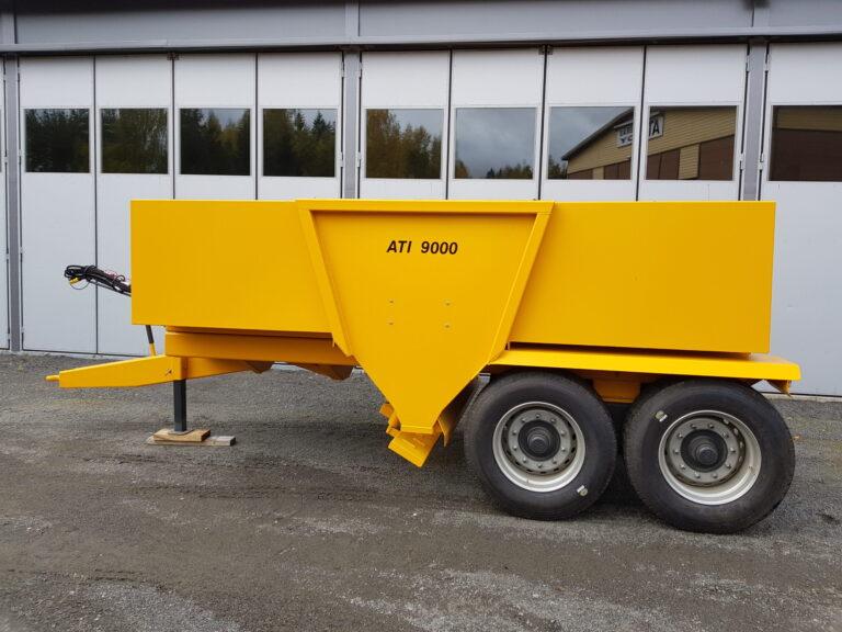 ATI-Teräs, ATI-9000 perävaunuhiekoitin, ATI-9000, Hiekoitin, Perävaunuhiekoitin, hiekoitin, Hiekoitinvaunu, Hiekoitusvaunu