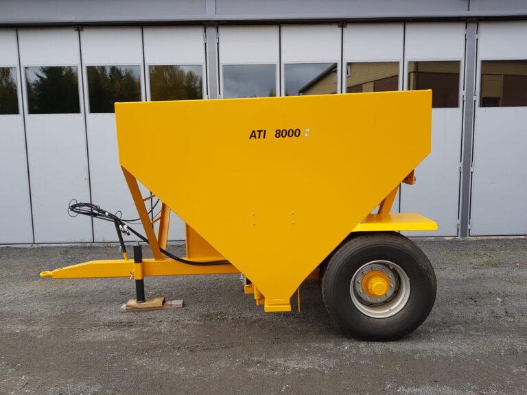 ATI-Teräs, ATI-8000 perävaunuhiekoitin, ATI-8000, Hiekoitin, Perävaunuhiekoitin, hiekoitin, Hiekoitinvaunu, Hiekoitusvaunu, Vaunuhiekoitin