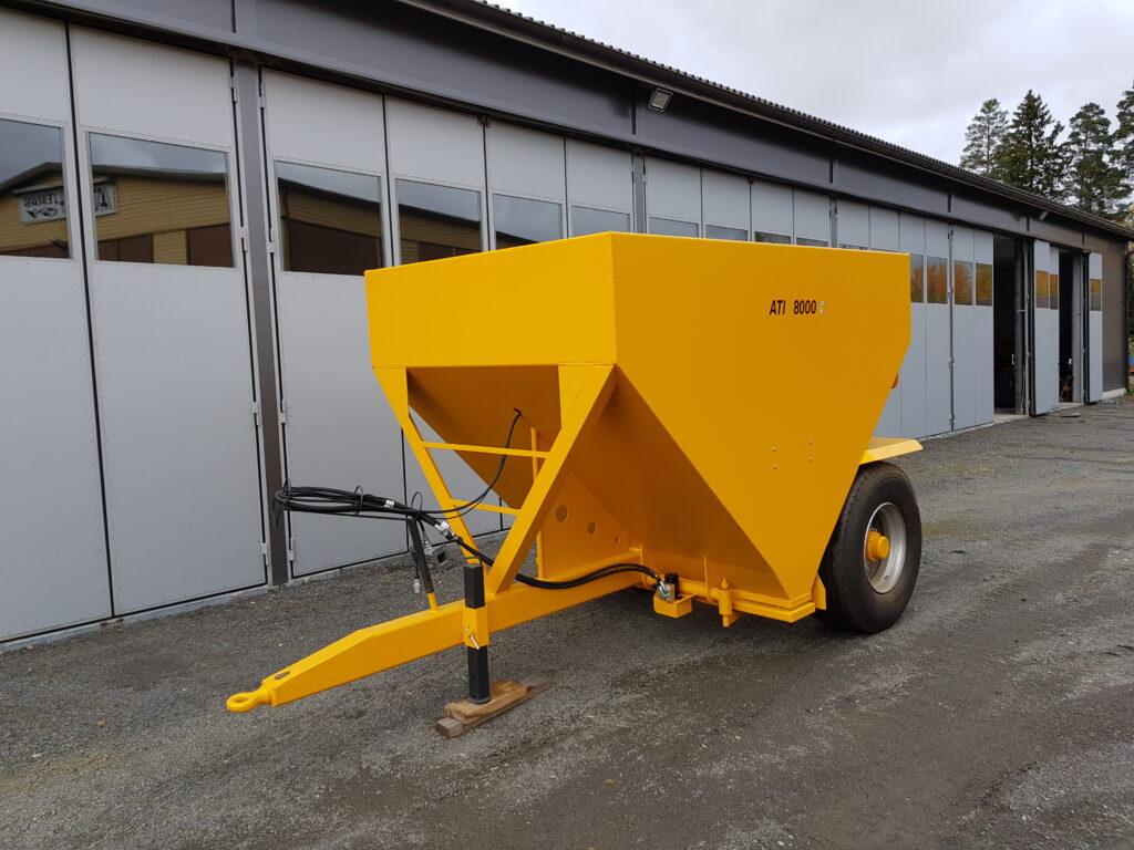 ATI-8000 Hiekoitinvaunu, Tuotteet