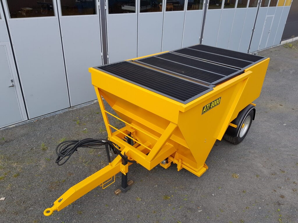 ATI-8000 Kippaava Hiekoitinvaunu, Tuotteet